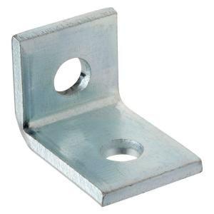 Superstrut 2 Hole 90 Degree Angle Strut Bracket Silver Galvanized Zab201eg 10 Projects Degree Angle L Brackets Custom Metal