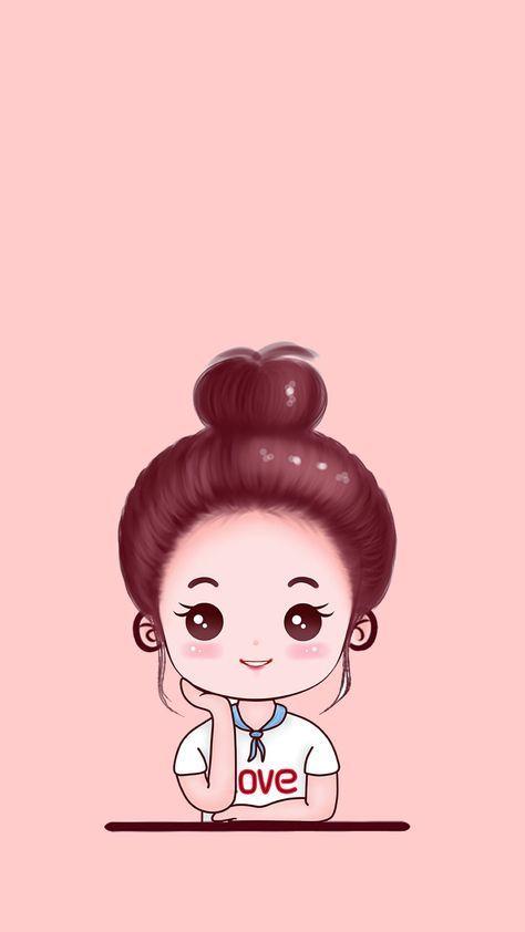 Wall Paper Whatsapp Art Tumblr 51 Ideas For 2019 In 2020 Cute Cartoon Wallpapers Cartoon Wallpaper Cute Girl Wallpaper