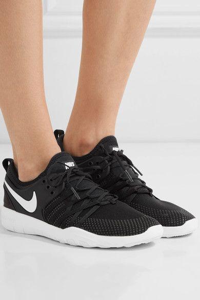 a65aa7255b24e Nike - Free Tr 7 Mesh Sneakers - Black