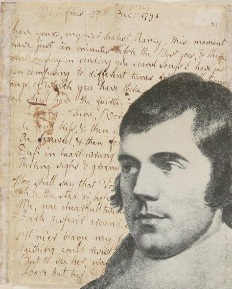 Pin By Rene Janusonis On Outlander Robert Burns Burns Night