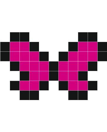 Papillon Stickers Muraux бабочки Dessin Pixel Art