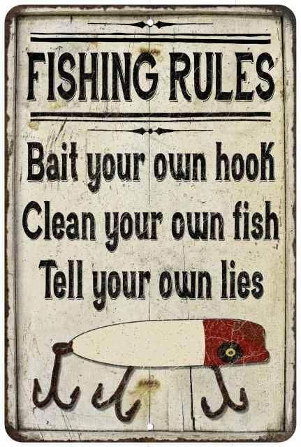 Learn To Fish It S Fun Fishing Rules Fishing Signs Fish