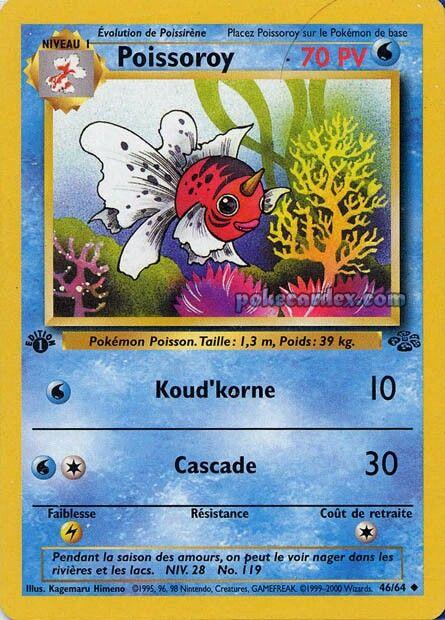 Poissoroy Carte Pokemon Pokemon Nager