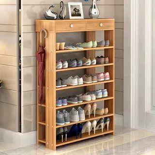 27 Awesome Shoe Rack Ideas Concepts For Storing Your Shoes Closet Entryway Diy Rotating Bedro Wood Shoe Storage Shoe Rack Living Room Shoe Storage Shelf