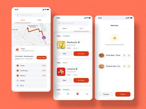 Coody Food iOS UI Kit