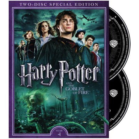 Harry Potter And The Goblet Of Fire Dvd Walmart Com Goblet Of Fire Harry Potter Films Goblet