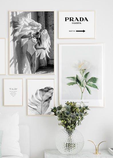 prada marfa poster stampa design