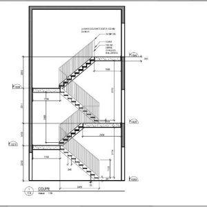Coupe Escalier En 2020 Escalier Idees Escalier Les Coupes