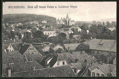 Buckeburg Blick Auf Neues Palais Und Luhdener Klippe Ansichtskarte 1916 Ebay Neues Palais Karten Neue Wege