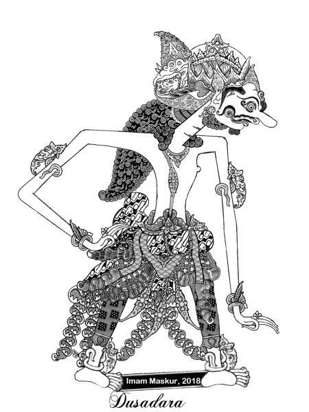 Wayang Kurawa : wayang, kurawa, Wayang, Kurawa, Laman, Gambar, Naga,, Tradisional,