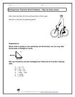 pythagorean theorem worksheets | Pythagorean Theorem Worksheet ...