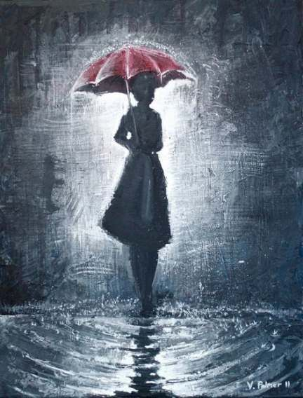 26 Ideas For Painting Girl With Umbrella Rain Regenschirm Malerei Regenschirm Kunst Regenschirm