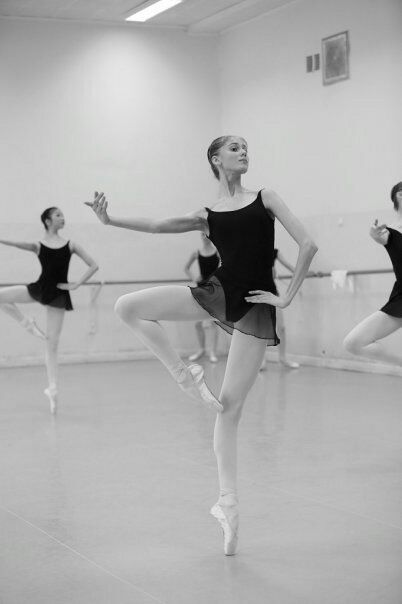 Ballet doesn't stifle individuality, it builds it. It takes true self confidence to get out there in the same clothes as every other dancer and do the same thing as every other dancer. yet somehow make them remember you
