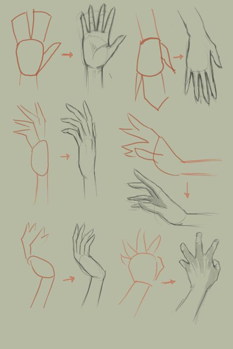 Drawing Tutorial How to draw hands. An art tutorial ♥♡ - How to draw hands. An art tutorial ♥♡How to draw hands. An art tutorial ♥♡