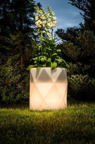 Nowoczesna Donica Podswietlana Led Paper Lamp Novelty Lamp Lamp