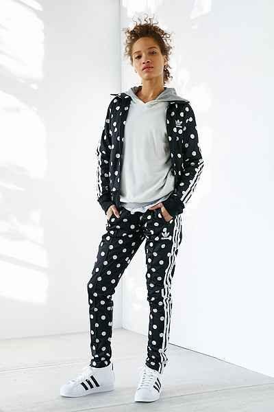 adidas Originals Dots Firebird Track Pant | GET IN MY CLOSET