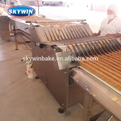 Production industrial cookies