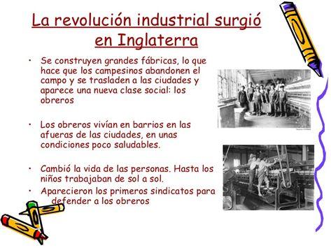 que clase social surgio en la revolucion industrial