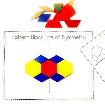 Easy Print And Prep Kindergarten Math Centers Symmetry Math