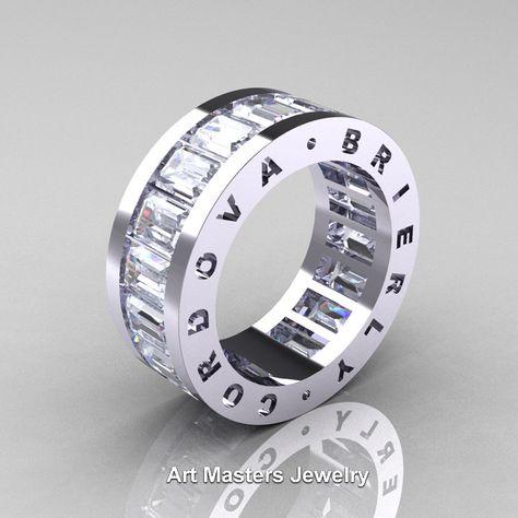 Princess Kylie Clear Cubic Zirconia Fleur De Lis Cross Ring 925 Sterling Silver