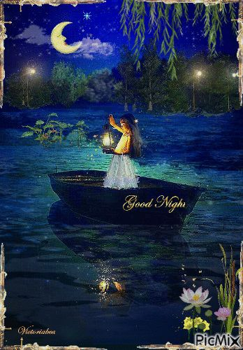 10 Animated Good Night Greetings & Wishes
