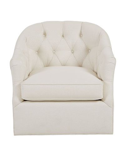 Hbcv3 Merci Tufted Swivel Chair Swivel Chair Chair Furniture Dining Chairs