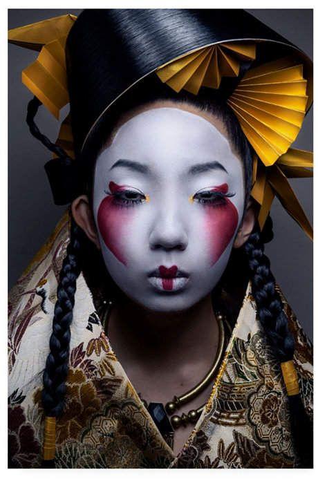 Trademark Global Akiomi Kuroda Fashion Geisha Canvas Art - 15  x 20