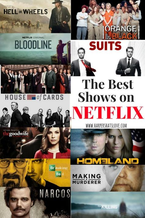 The 12 Best Shows on Netflix | Pursuing Pretty