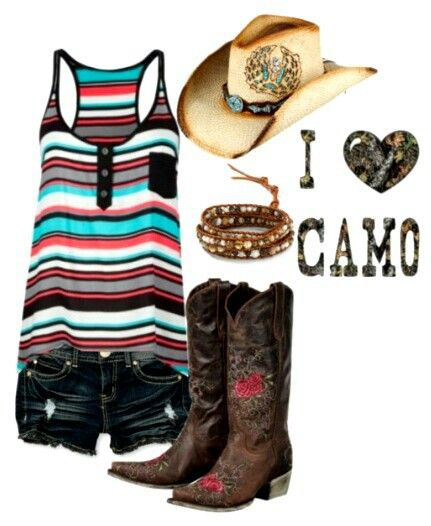 cute. but idk why it says i lvoe camo when there is no camo lol
