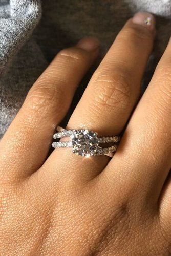 Ritani Rings For Every Beautiful Bride Wedding Forward Engagement Rings Twisted White Gold Engagement Rings Twisted Band Engagement Ring