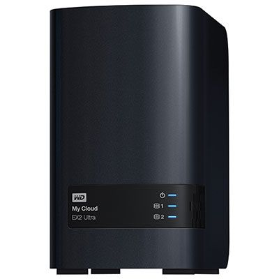 Wd My Cloud Ex2 Ultra 16tb Network Attached Storage Wdbvbz0160jch Nesn Clouds Cool Things To Buy Digital