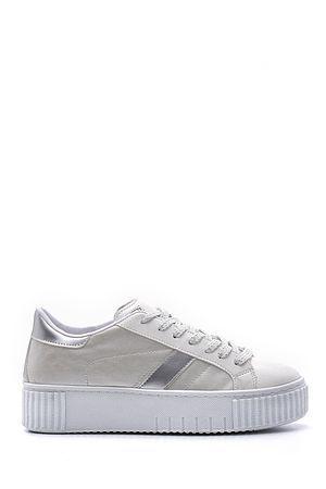 Beyaz Kadin Yuksek Tabanli Sneaker 20sfe193418 Derimod 2020 Sneaker Kadin Ayakkabilar
