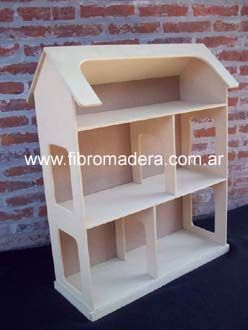6 Casas Para Muñecas Casa Miniatura Casas De Muñecas