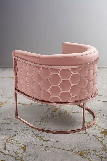Cool My Furniture Alveare Rose Gold Tub Chair Hexagon Furniture Caraccident5 Cool Chair Designs And Ideas Caraccident5Info