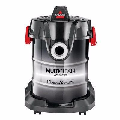 Bissell Multiclean Wet And Dry Auto Vacuum 2035m Black In 2020 Wet And Dry Wet Dry Vacuum Pet Carpet Cleaners