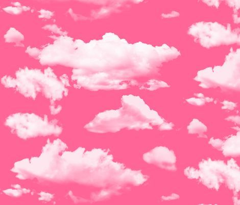Colorful fabrics digitally printed by Spoonflower - cupid pink clouds Iphone Wallpaper Tumblr Aesthetic, Aesthetic Pastel Wallpaper, Aesthetic Wallpapers, Pink Tumblr Aesthetic, Aesthetic Vintage, Bedroom Wall Collage, Photo Wall Collage, Picture Wall, 4 Wallpaper