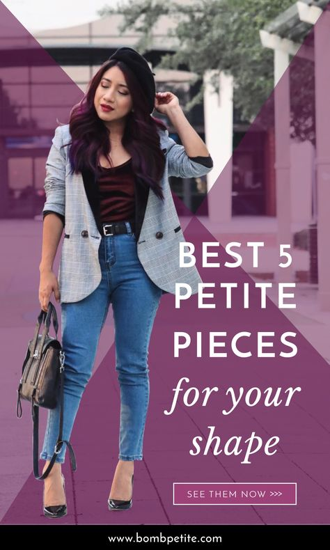 Short Girl Guide: 6 Best Pants | Short girl fashion, Petite