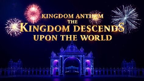 """""""The kingdoms of this world are become the kingdoms of our Lord, and of his Christ."""" Now, let's see the joyous scenes of God's kingdom coming and welcome His return. #Christian_Music #Praise_God #gospel_worship_songs #praise_and_worship #Music #praise #songs #hymns #Thank_God's_Love #Worship_Song #God #Choir"""