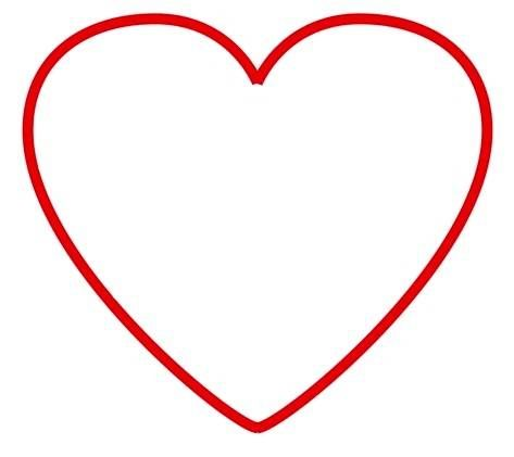 Kontur serca | Peace symbol, Symbols, Blog