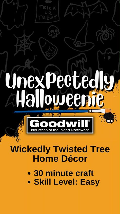 Wickedly Twisted Tree Home Decor DIY