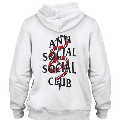 Anti social social club x snake SWEATER AND HOODIE | Anti