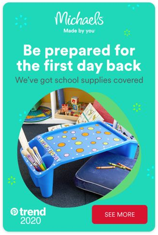 Get set for the first day back at school, with Michaels. We've got all your must-have essentials, so you're ready to get started. Tap the Pin and see more.