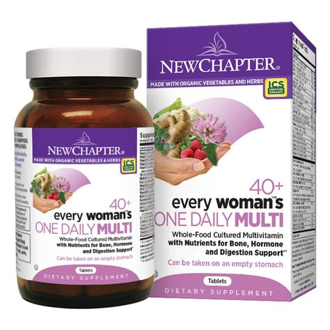New Chapter 40+ Every Woman's One Daily Multivitamin (96 count) #10071288 - 96 count