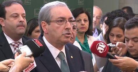 Eduardo Cunha anuncia rompimento com o governo e diz que é 'oposição'