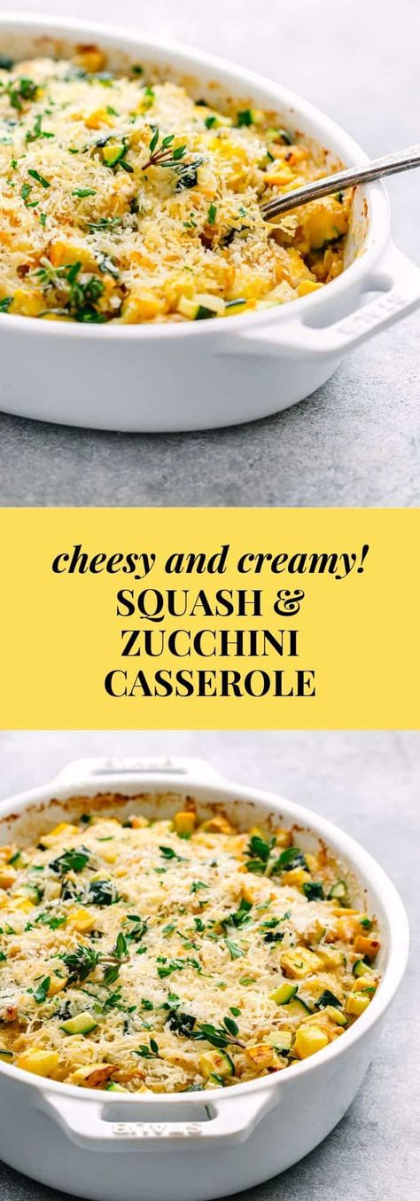Summer Squash Casserole   Cheesy and Healthy - With Recipe Video 🎥