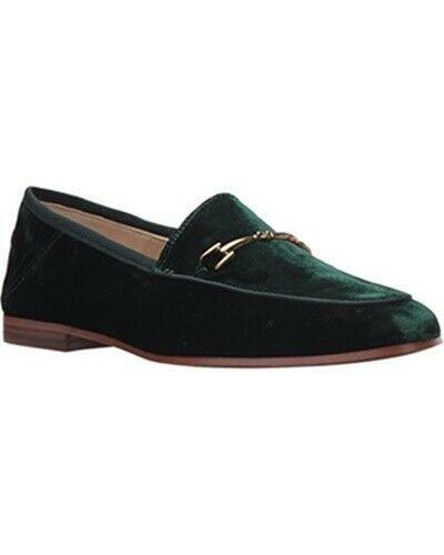 SAM EDELMAN Loraine Loafer Flat Emerald