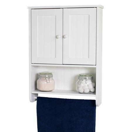 Espresso Cabinet With Towel Bar Zenith Home Corp Zpc Bathroom Wall Cabinets Bathroom Wall Storage Wall Storage Cabinets
