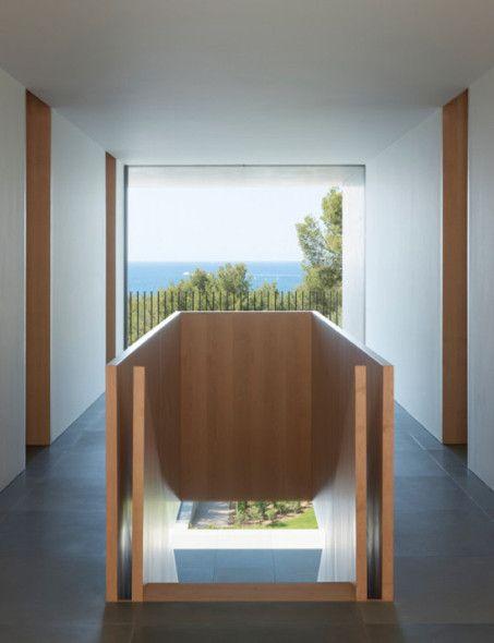Arquitectura Monolatica Diseno De Escalera Casas Frente Al Mar