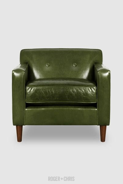 Marvelous Midcentury Modern Leather Chair Leather Arm Chair Green Gamerscity Chair Design For Home Gamerscityorg