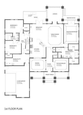 Toh Homepage Floor Plans House Plans New House Plans